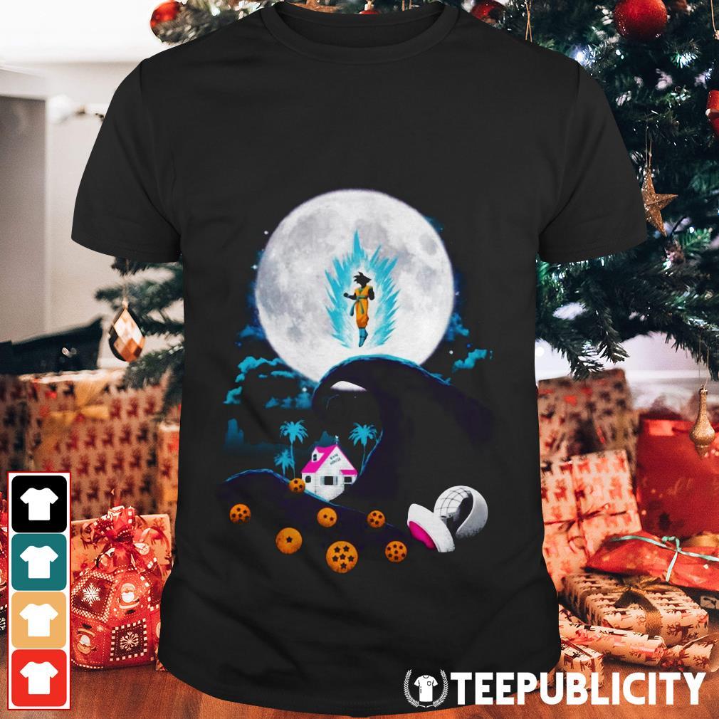 Dragon Ball The nightmare before Christmas shirt