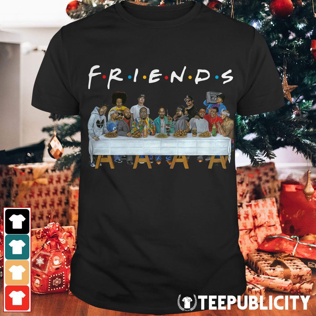 Friend TV show World famous rappers shirt