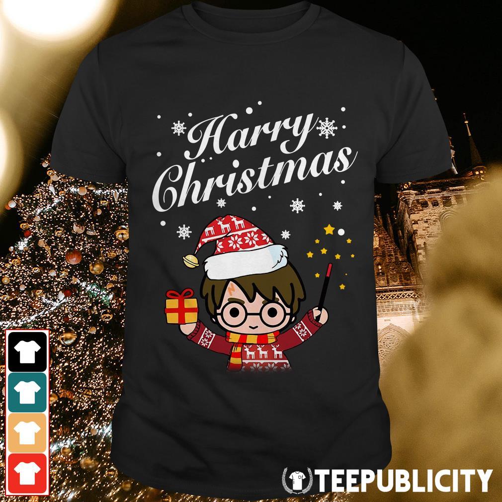 Merry Christmas Harry Potter Harry Christmas shirt