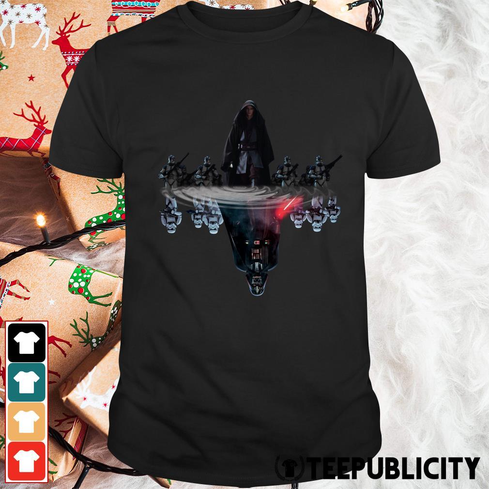 Official Anakin Skywalker water mirror reflection Darth Vader shirt