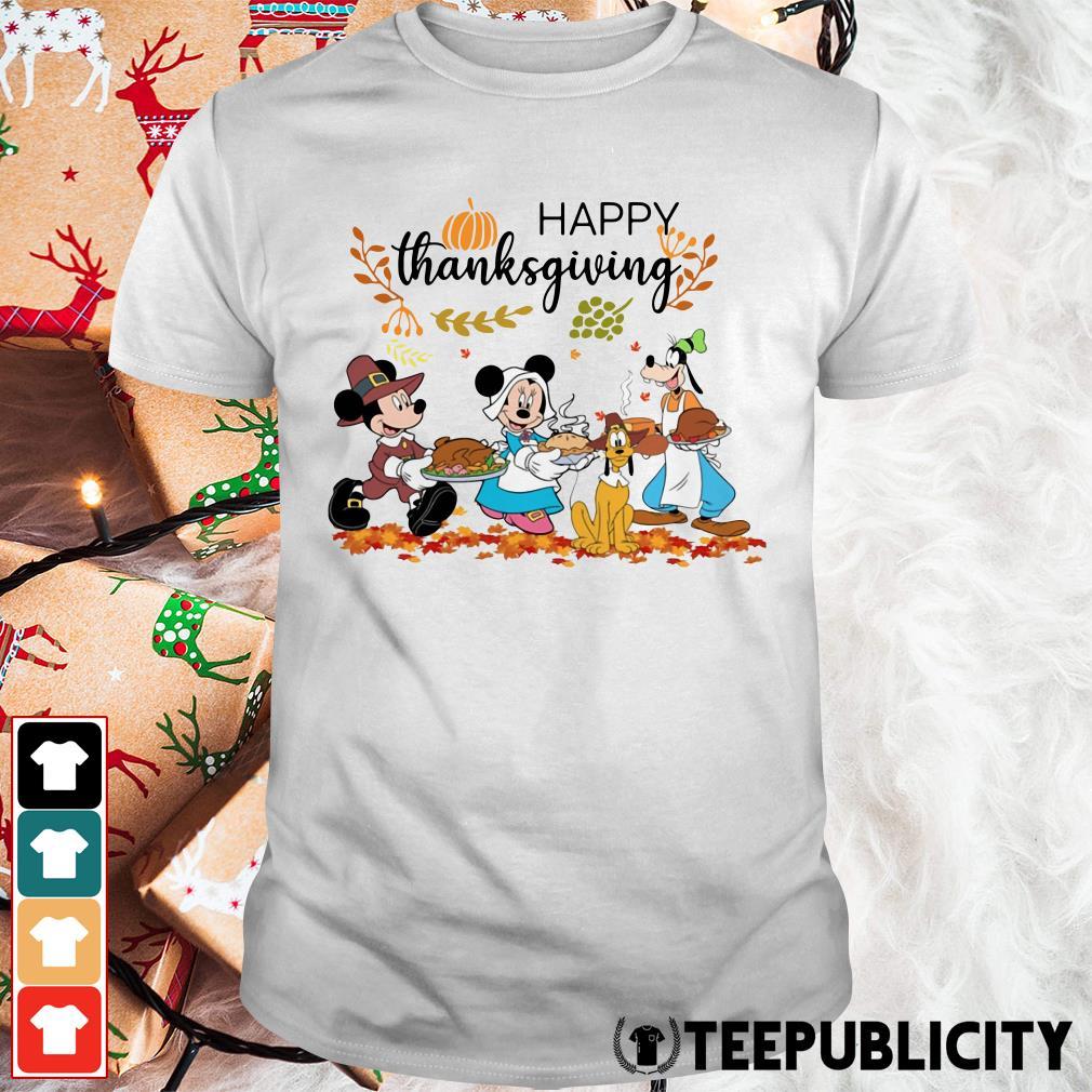 Official Disney happy thanksgiving shirt