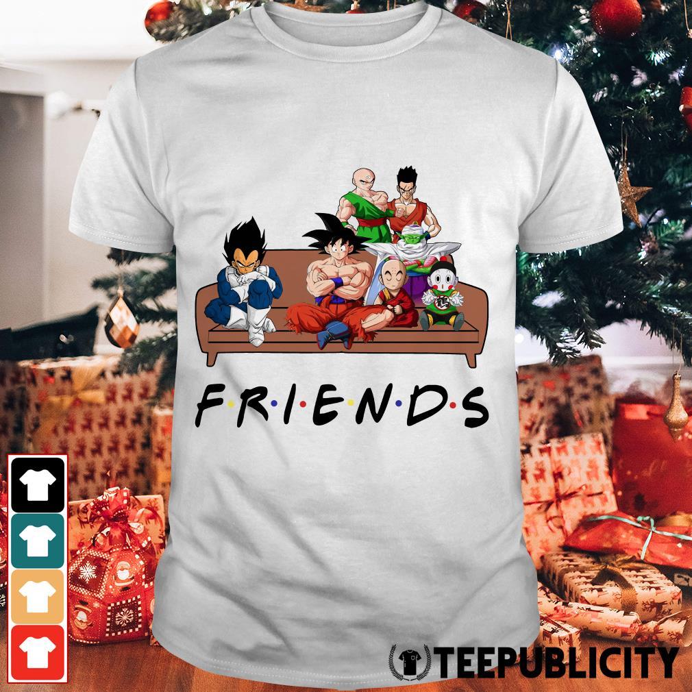 Official Dragon Ball Friends tv show shirt