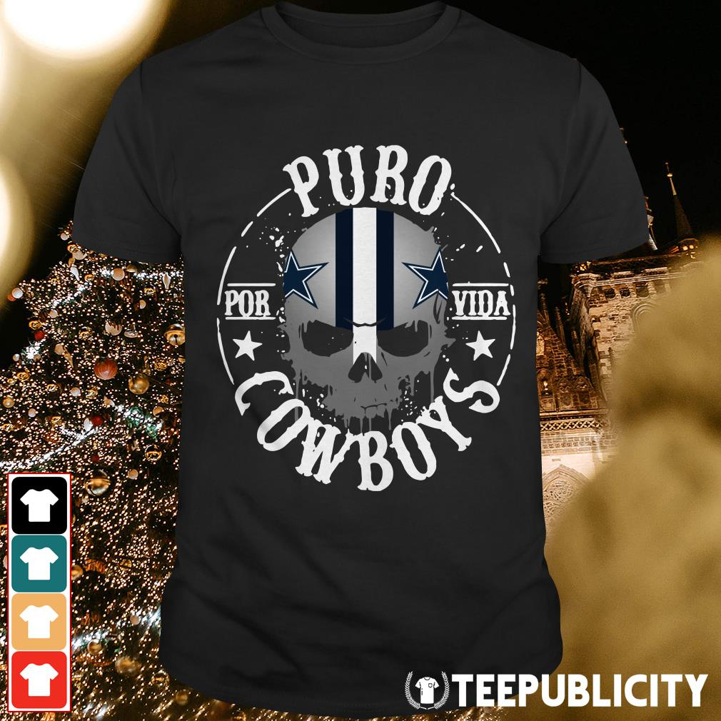 Official Puro por vida Dallas Cowboys shirt