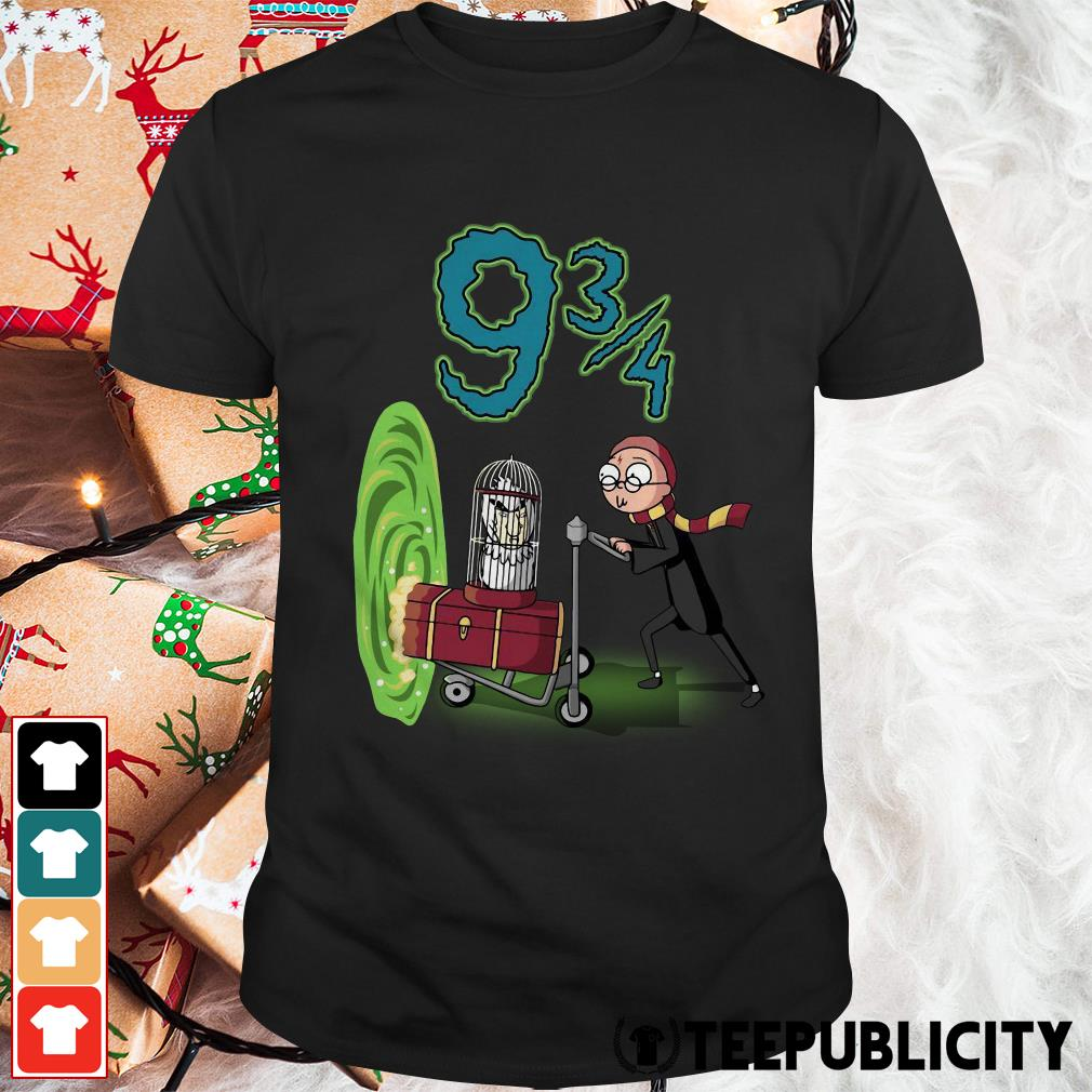 Official Rick and Morty Harry Potter Morty 93 4 shirt