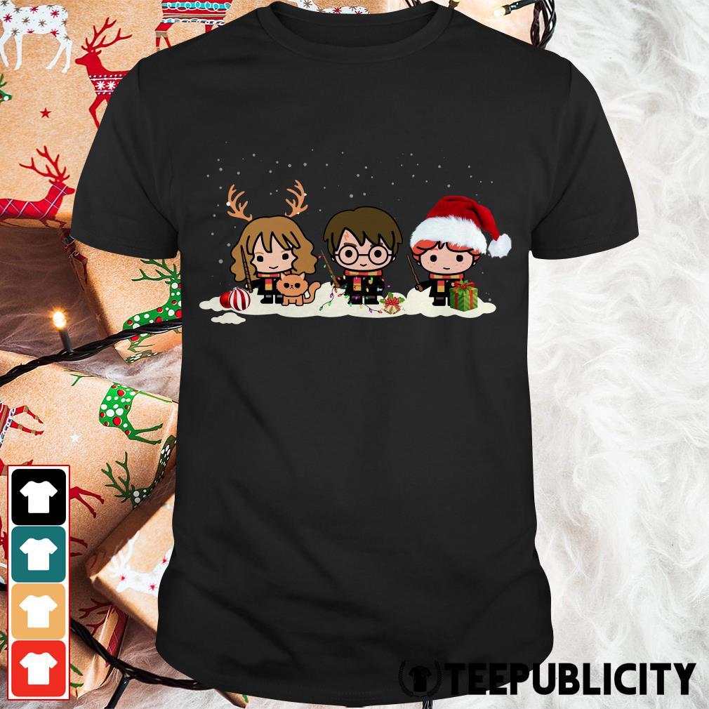 Official Santa Harry Potter chibi Christmas is coming shirt