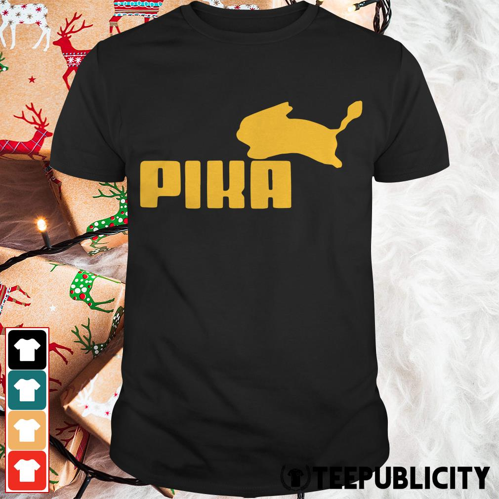 Pokemon Pikachu Puma shirt