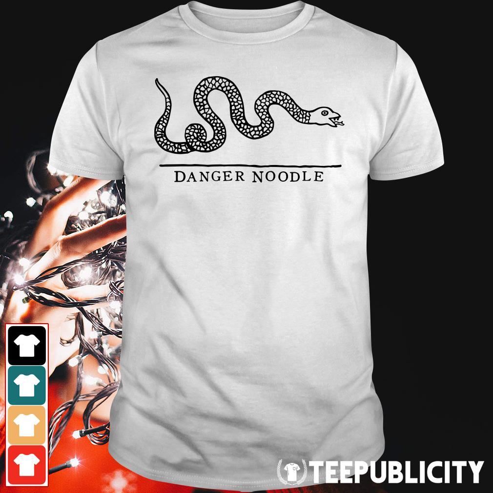 Snake danger noodle shirt