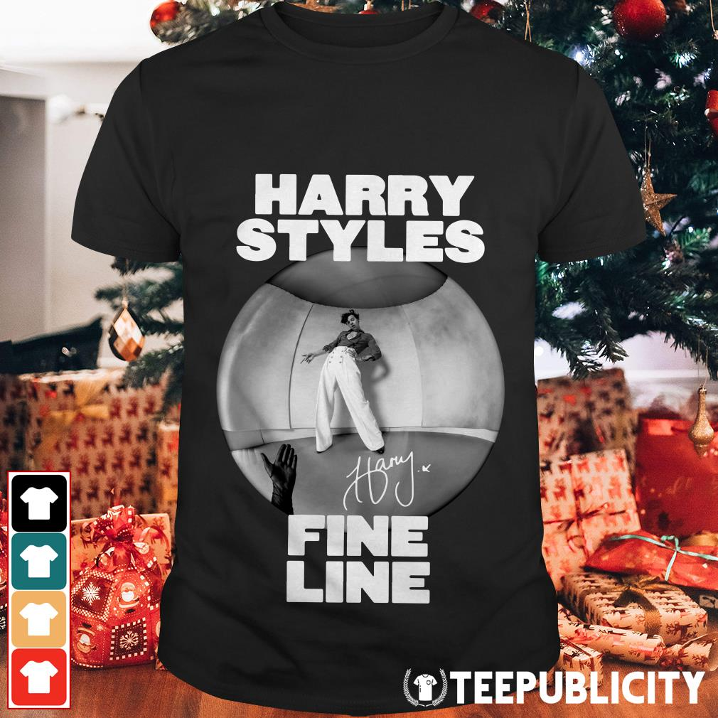 Official Harry styles fine line signature shirt