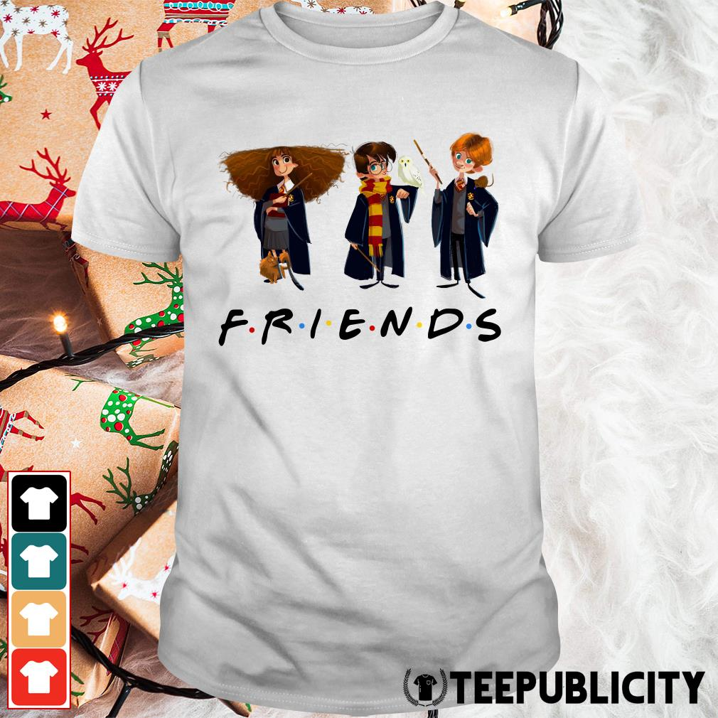 Official Hermione Granger Harry Potter and Ron Weasley friends tv show shirt
