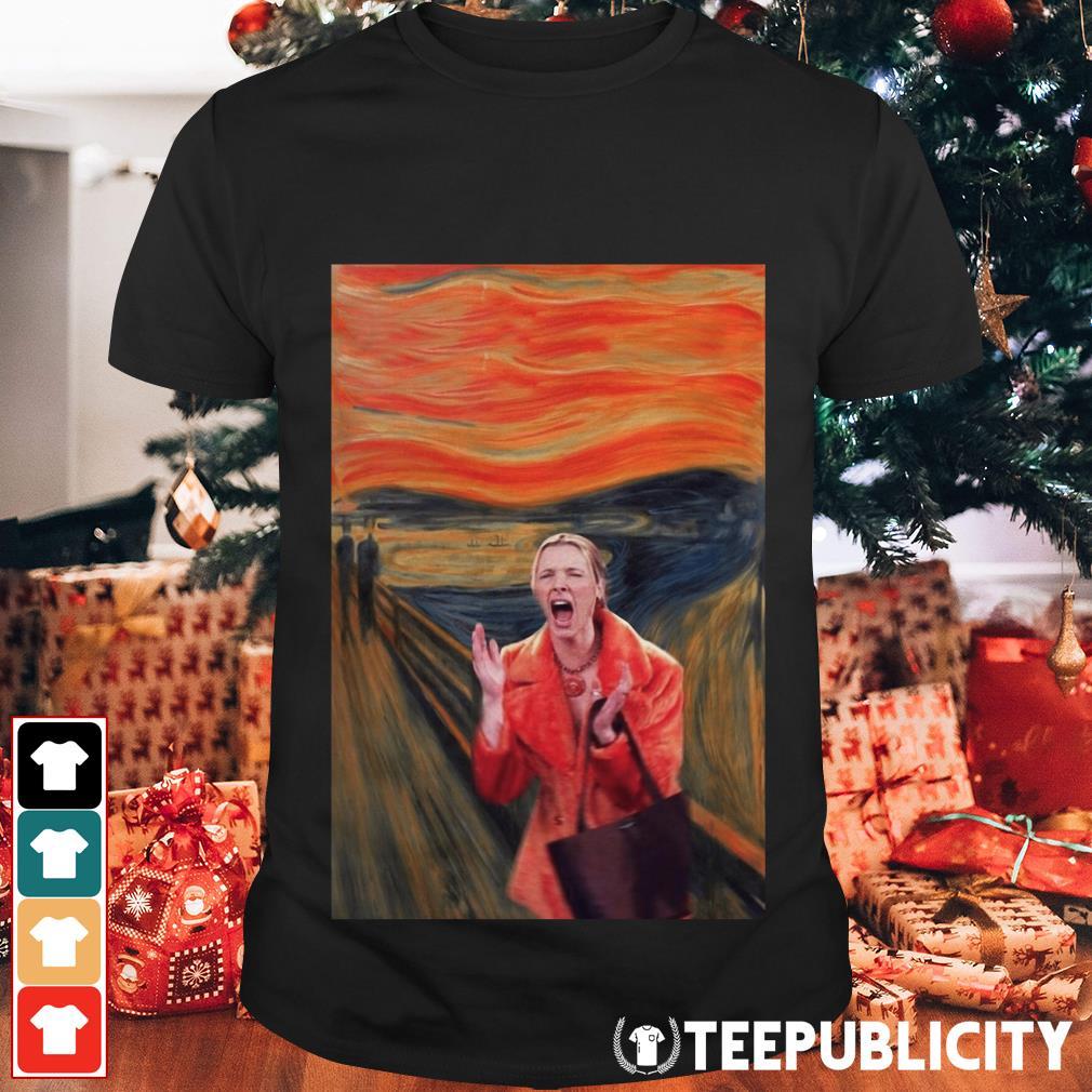 The Scream Phoebe Buffay Friends TV show shirt