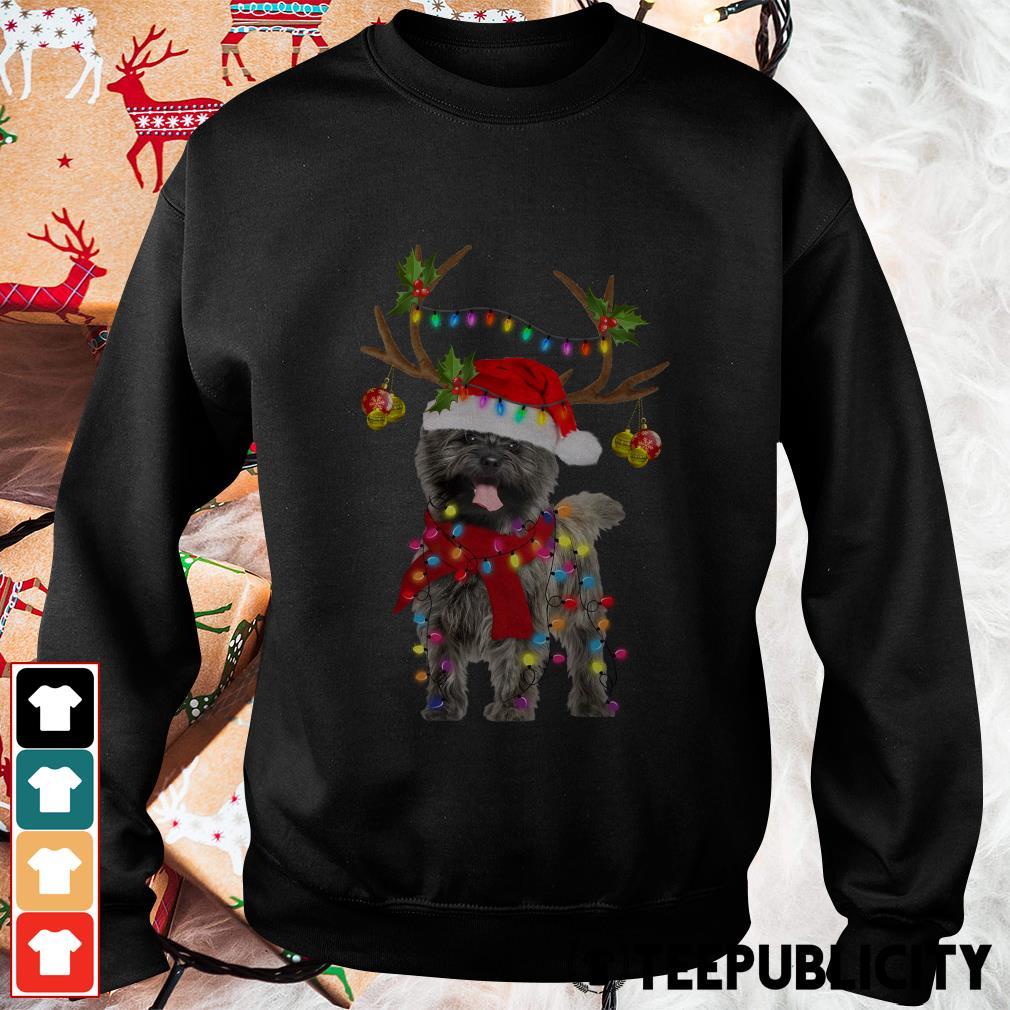 Cairn Terriers gorgeous reindeer Crewneck Sweater