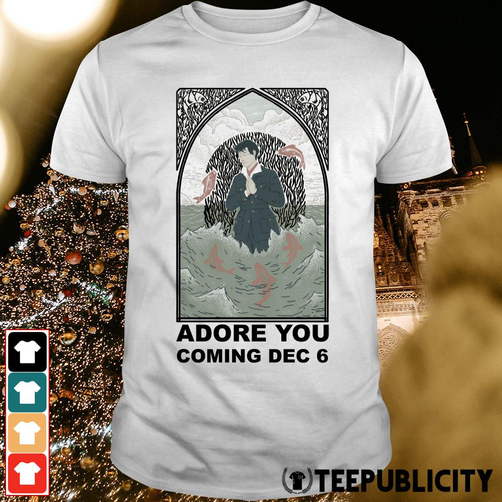 Official Harry Styles Adore You is coming December 6 shirt