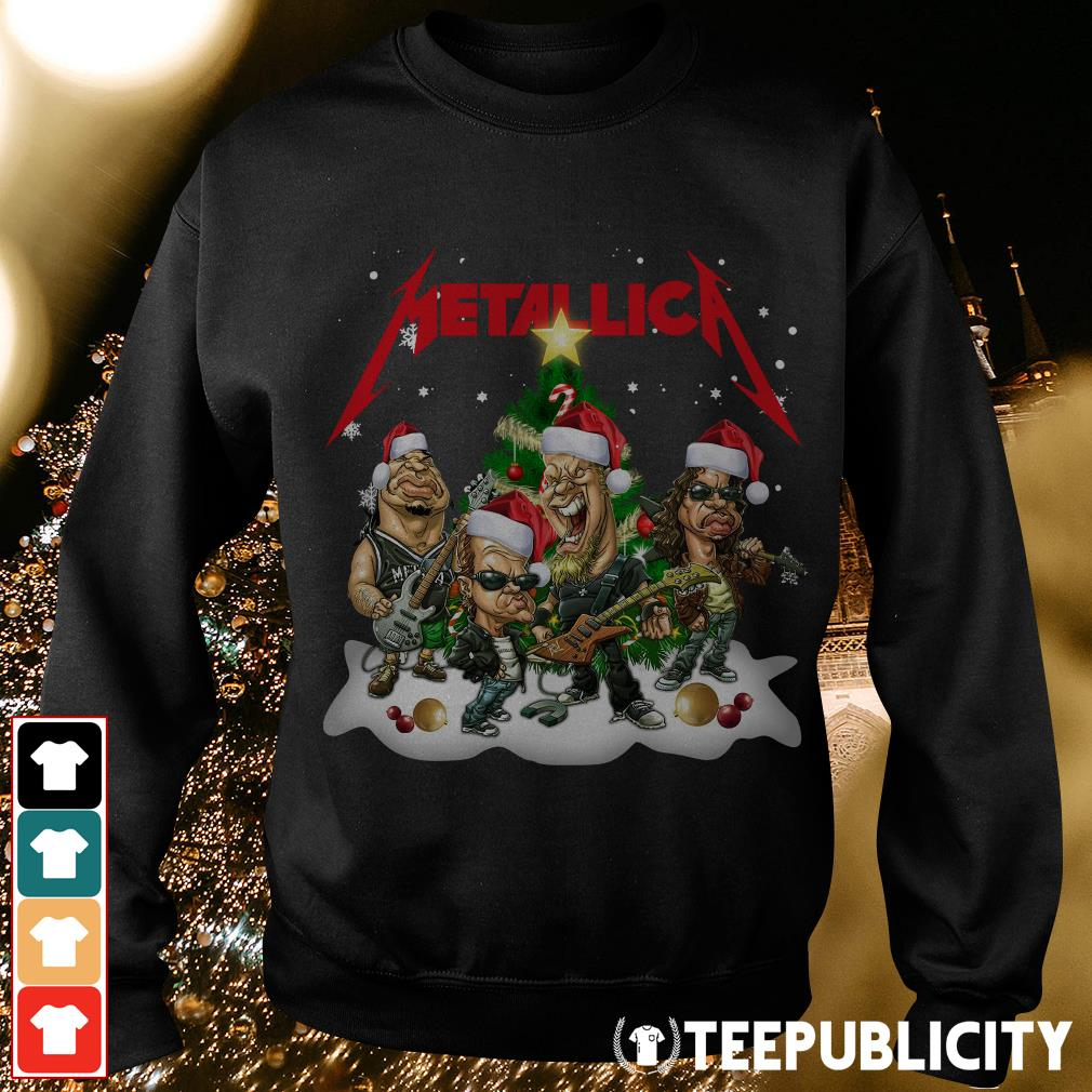 Official Metallica Christmas Tree Sweater