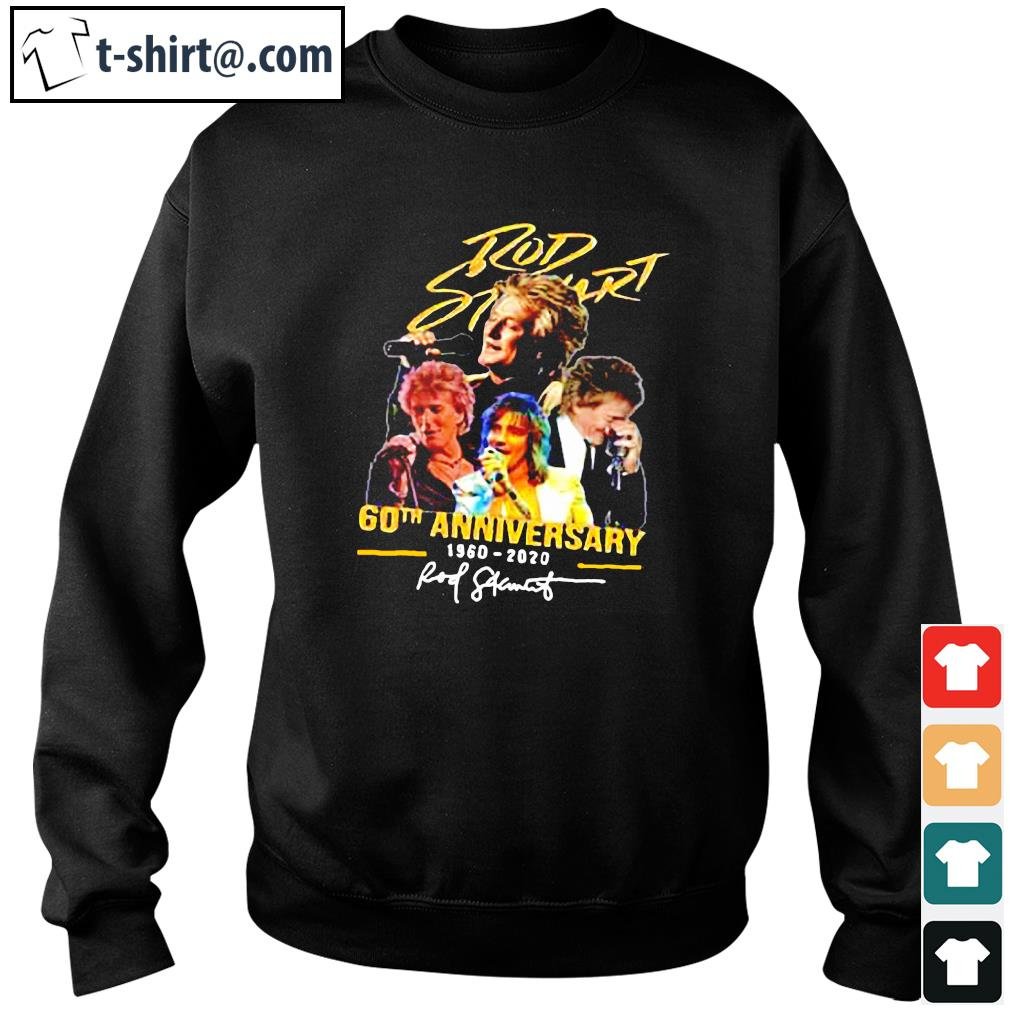 Official Rob Stewart 60th anniversary 1960 2020 signature s sweater
