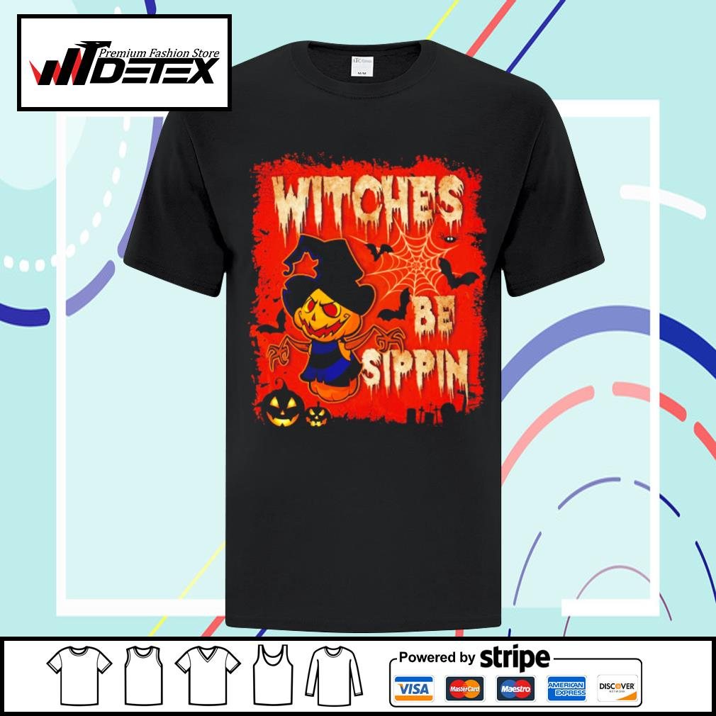 Halloween witches be sippin shirt