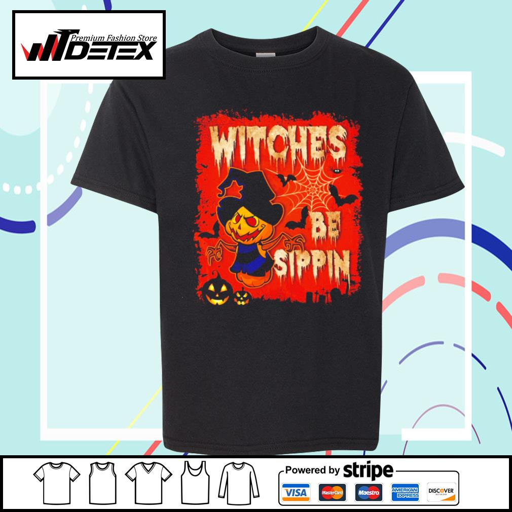 Halloween witches be sippin s youth-tee