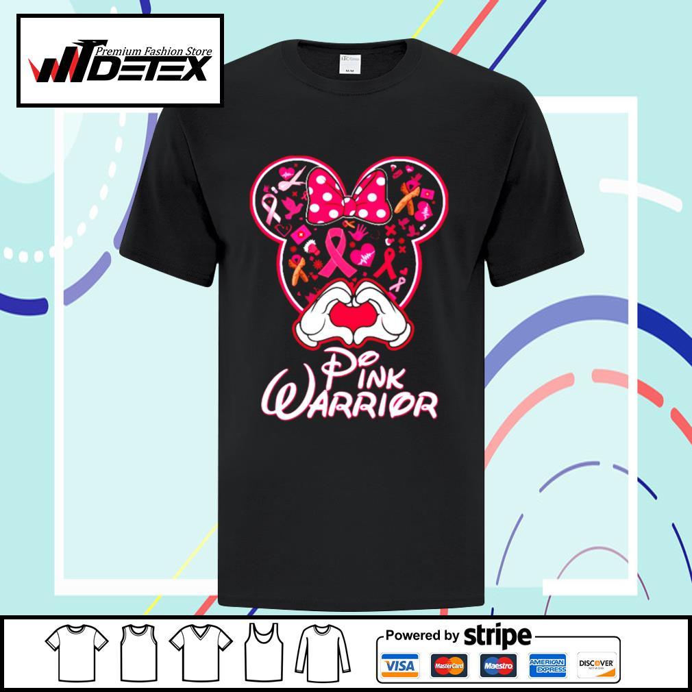 Minnie Mouse pink warrior shirt