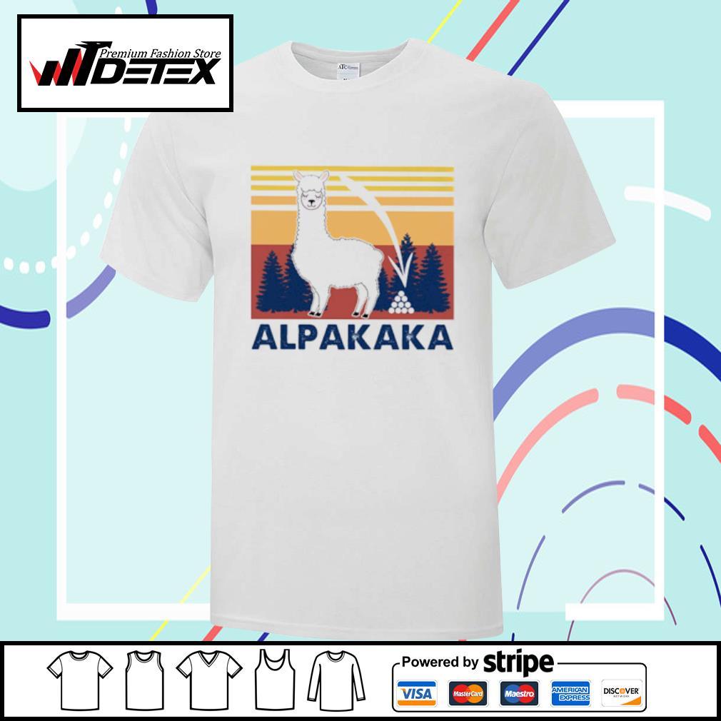 Alpaca Llama vintage shirt