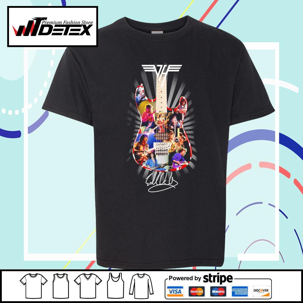 Eddie Van Halen guitar signature s youth-tee