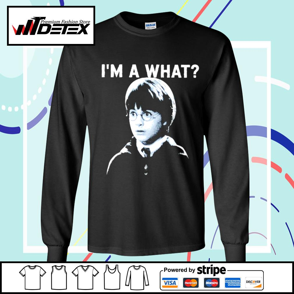 Harry Potter I'm a what s longsleeve-tee