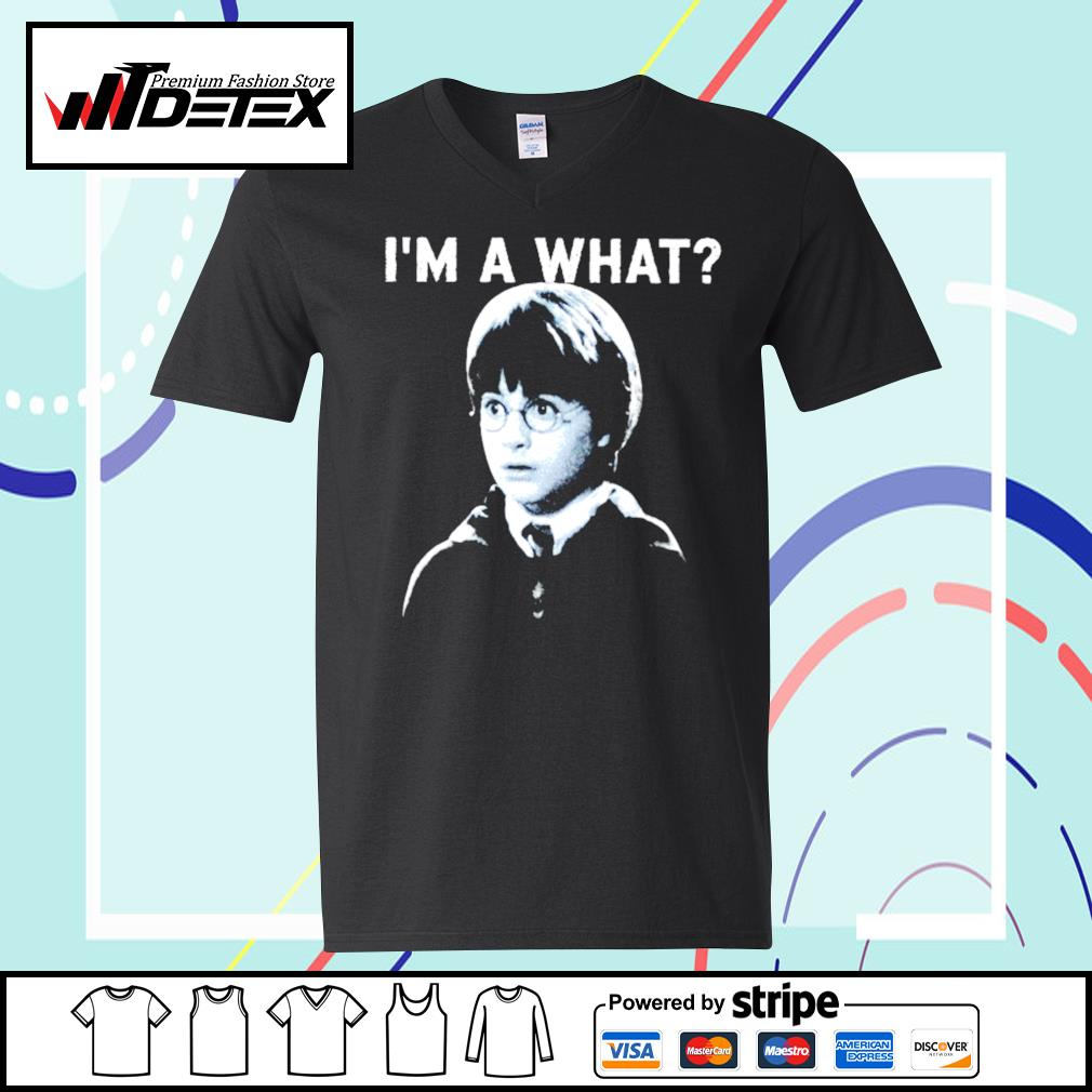 Harry Potter I'm a what s v-neck-t-shirt