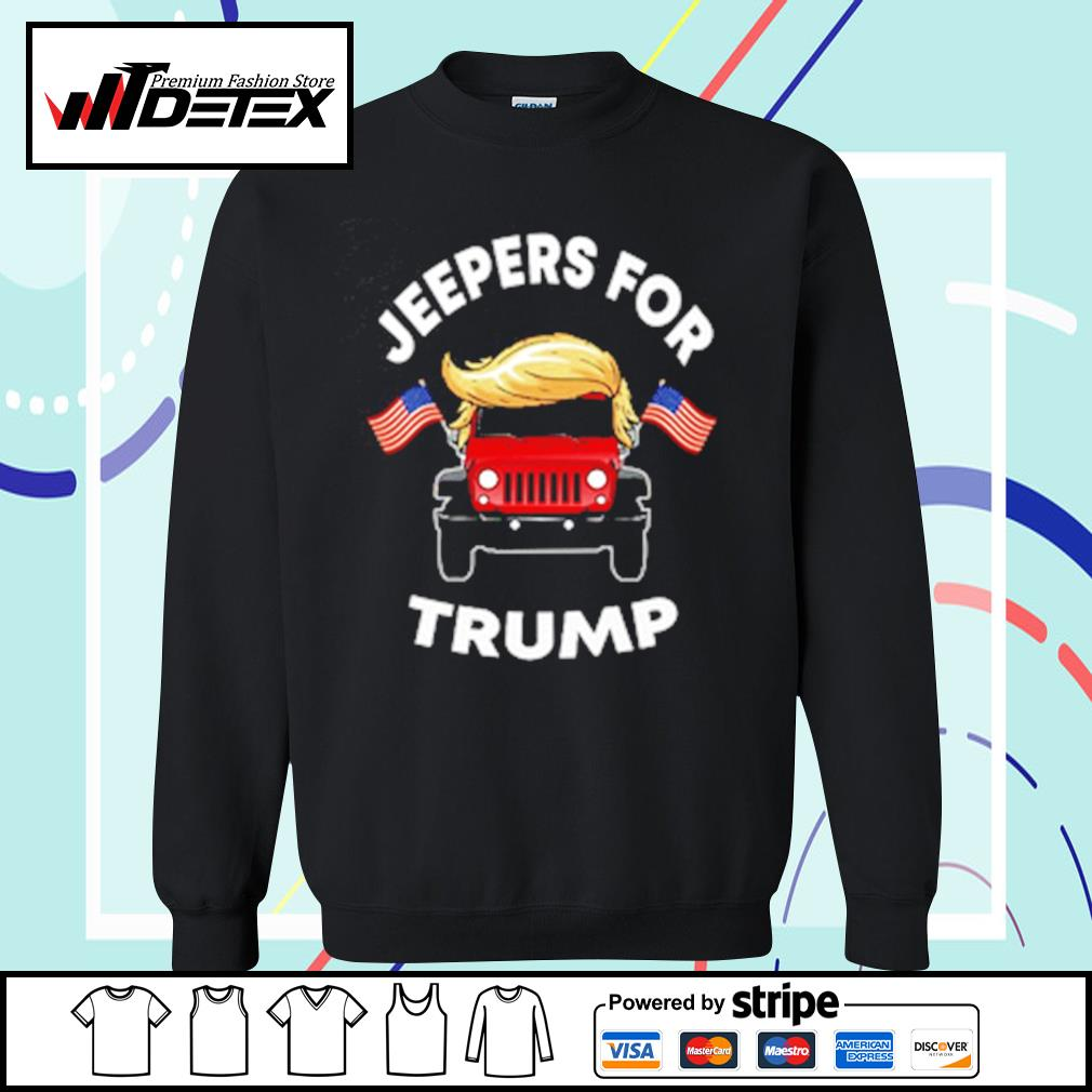 Jeepers for Trump s sweater