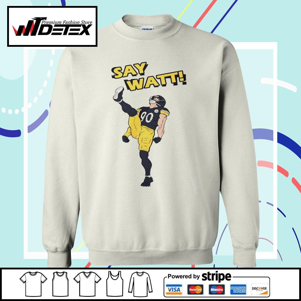 Pittsburgh Steelers say Watt s sweater