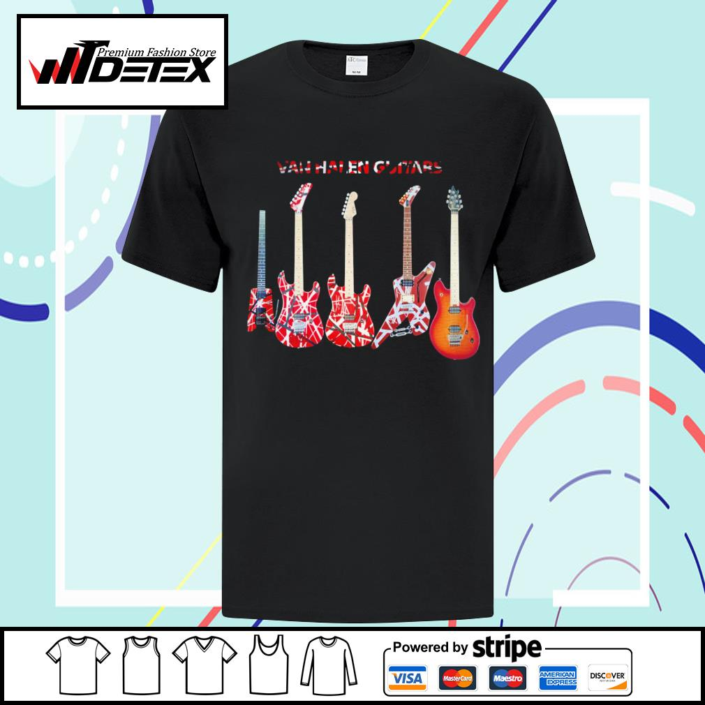 Van Halen guitars shirt