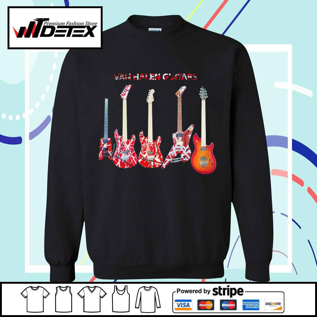 Van Halen guitars s sweater